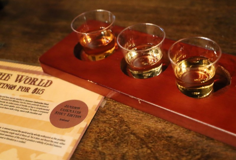 Queen Mary Dark Harbor Whiskey Flight