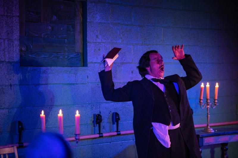 Edgar Allan Poe Duffy Hudson dates times schedule
