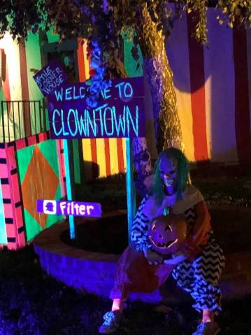 Clown Town Corner House