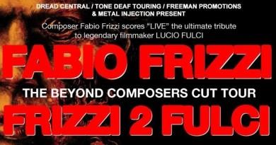 Frizzi 2 Fulci tour America 2019