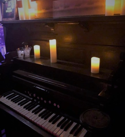 We resisted the temptation to take immersive interaction to the next level with an impromptu organ recital.
