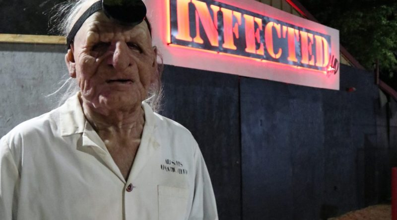 Infected H.D. Haunted House Review