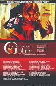 Simmonetti's Goblin 2019 Tour Dates Schedule