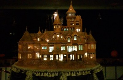 Winchester Mystery House Halloween Gingerbread House