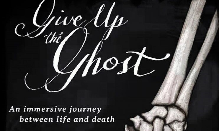 Give Up the Ghost Aaron Vanek interview Halloween