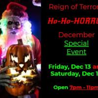 Holiday Horror coming to Reign of Terror & All Saints Lunatic Asylum