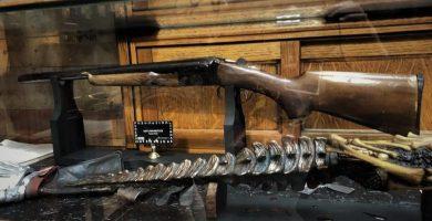 Mystic Museum Evil Dead Exhibit boomstick