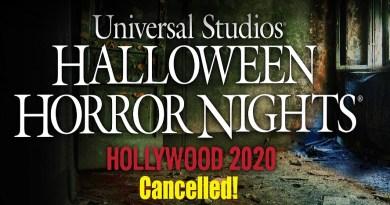 HHN-2020 cancelled