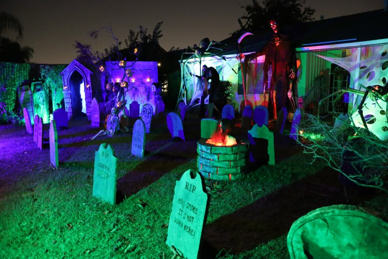 San Gabriel Valley 2020 yard haunts