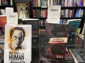 Autographed horror fiction