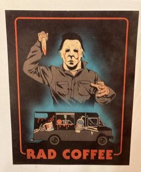 Rad Coffee Halloween poster