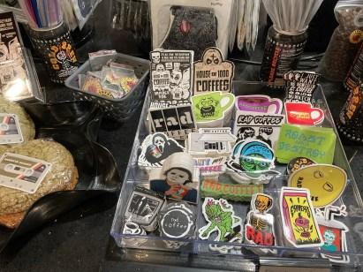 Rad Coffee stickers