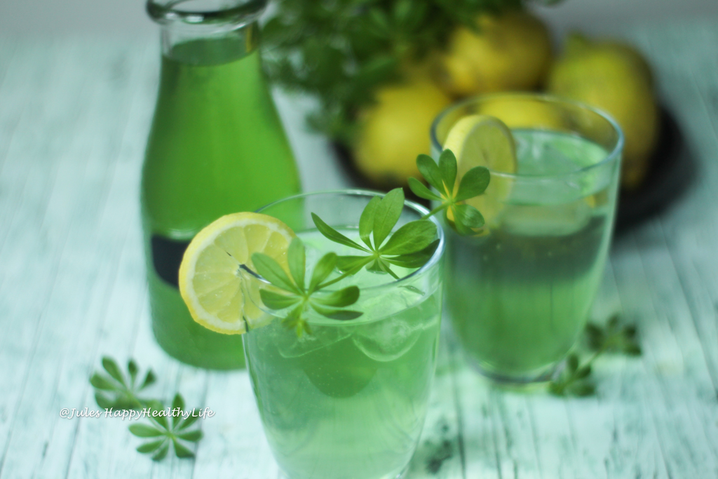 Woodruff Lemonade for adults