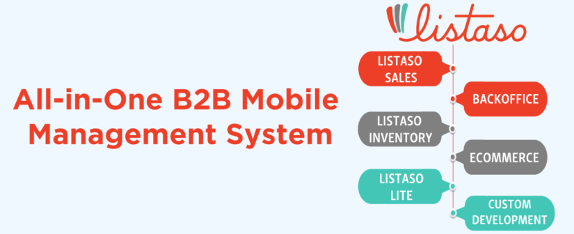 All-in-One B2B Mobile Management System