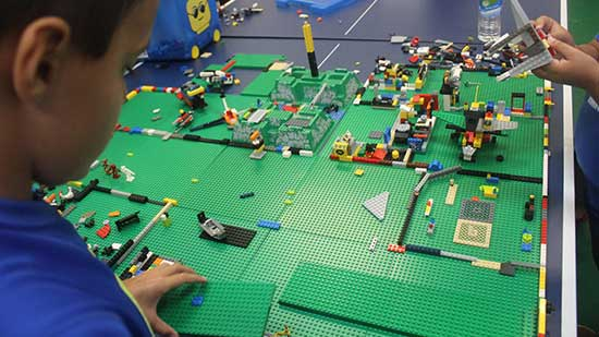 Kids at Third Law enjoy Thousands of Lego every day .