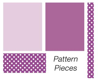 Pattern pieces