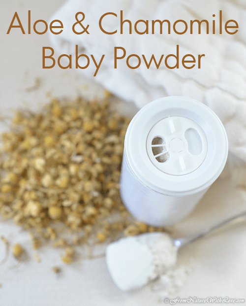 Aloe & Chamomile Baby Powder | Natural Beauty Workshop