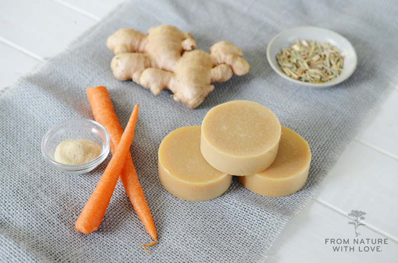 cold process Carrot Soap recipe