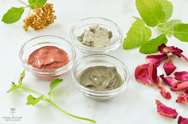 Three Simple Clay Facials