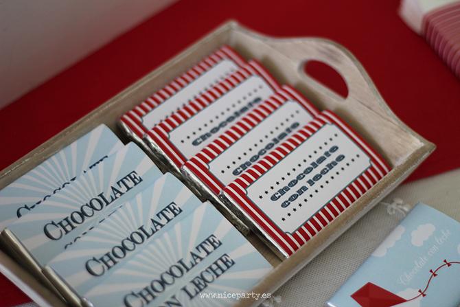 Nice Party cumpleaños Mary Poppins chocolatinas