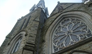 The Holy Rosary Cathedral in downtown Vancouver.