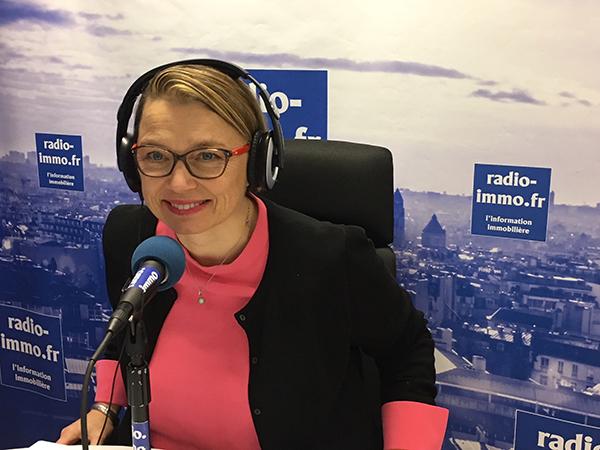 Céline Jankowski sur radio-immo.fr