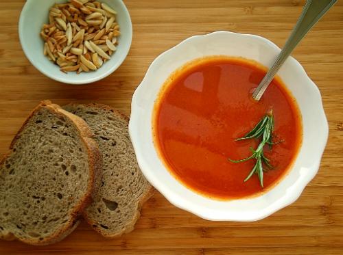 Sopa de Tomate e Especiarias