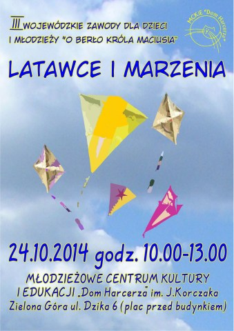 plakat Latawce i marzenia 2014