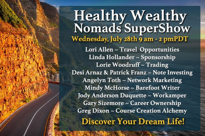 Learn how to earn good money from home, on the road, or anywhere you love to live.