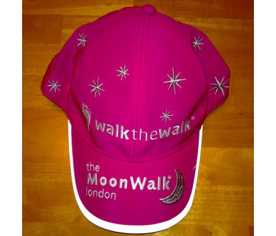 London Moonwalk 2011 Hat