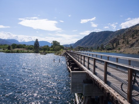 Bridge into Okanagan Falls