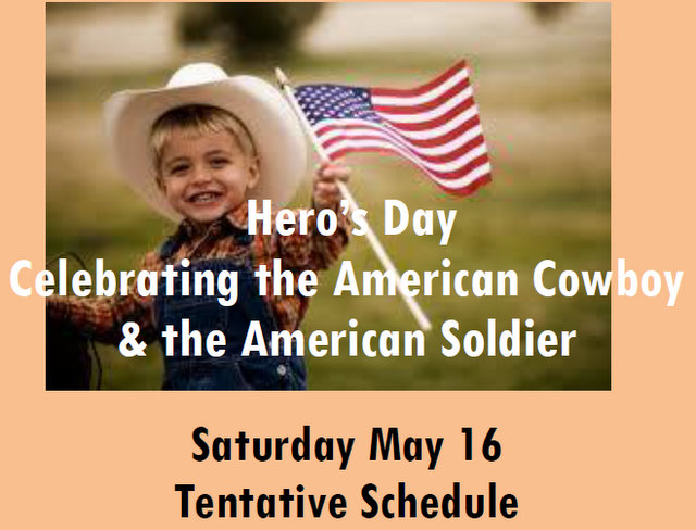 Calaveras County Fair & Jumping Frog Jubilee Saturday May 16 Schedule!  Jumpin' Frogs, Chubby Hogs and Corn Dogs!  Hero's Day Celebrating the American Cowboy  & the American Soldier