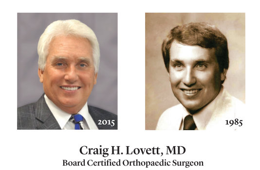 Thank You, Dr. Craig Lovett For 30 Years!
