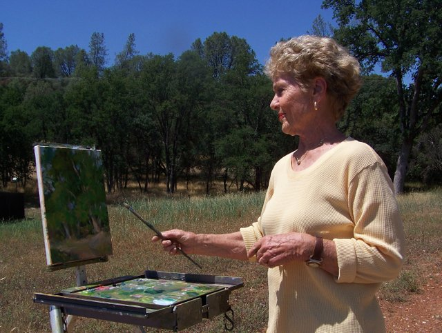 En Plein Air Artists Featured At Hovey In July