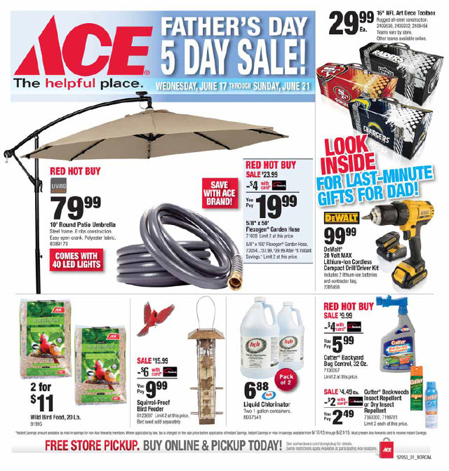 Arnold Ace Home Center Has Everything For Dad