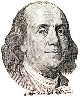 A Quote From Benjamin Franklin