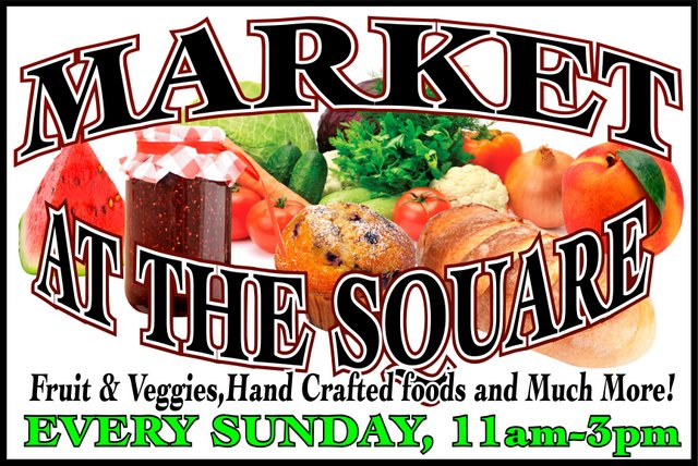 "The Copperopolis Town Square's ""Market At The Square"" Launches This Sunday (Updated With Vendor List)"