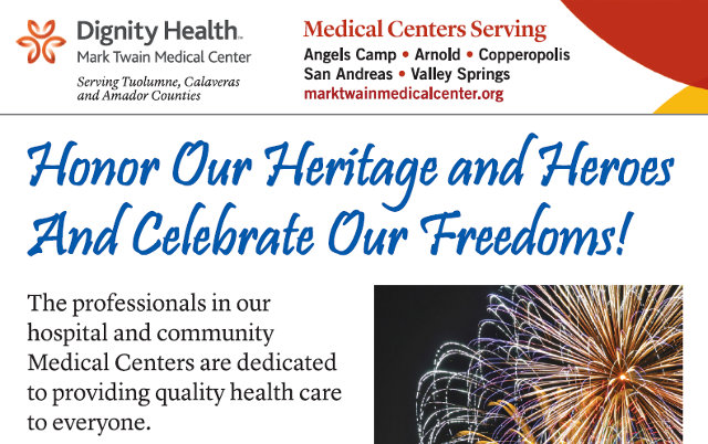 Mark Twain Medical Center Honors Our Heritage, Heroes & Freedoms