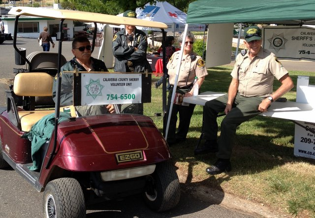 Sheriff Volunteer Provided Patrols At Calaveras Fair