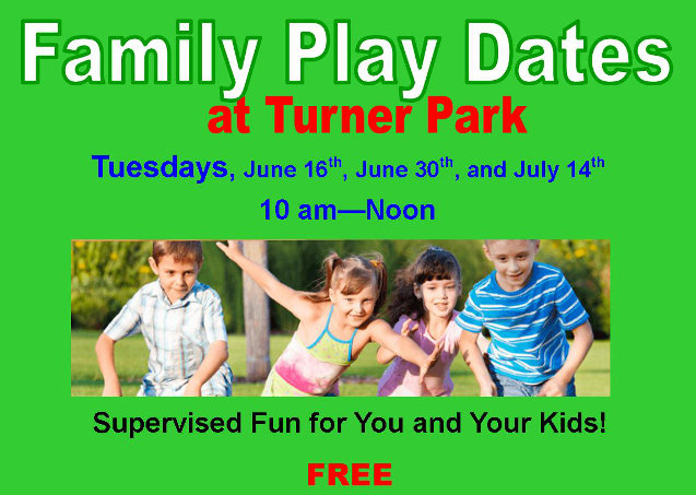 Family Play Dates At Turner Park