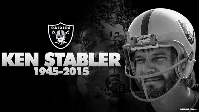 Statement From Oakland Raiders & Others On Passing Of Ken Stabler