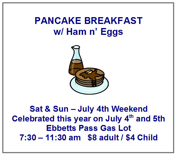 Celebrate Independence From Your Kitchen At Arnold Lions Pancake Breakfast