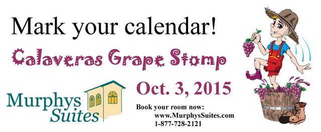 Make Your Grape Stomp Lodging Plans Now At Murphys Suites