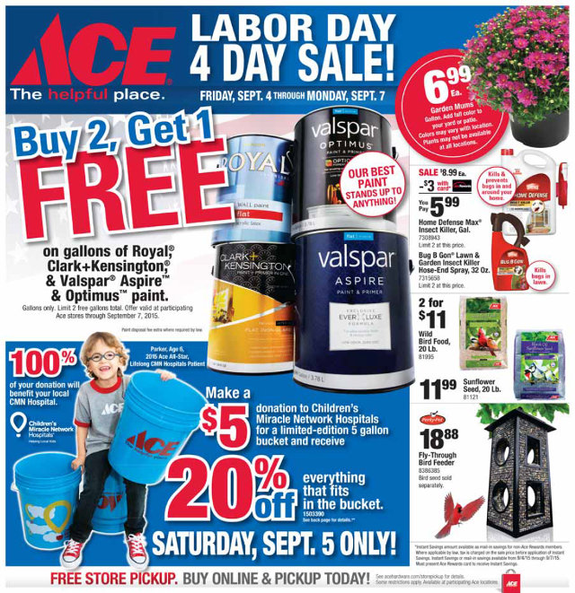 Make Plans To Be At Arnold Ace Home Center Early Friday Morning