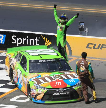 Nascar 2015 Champion Kyle Busch The Come Back Kid!