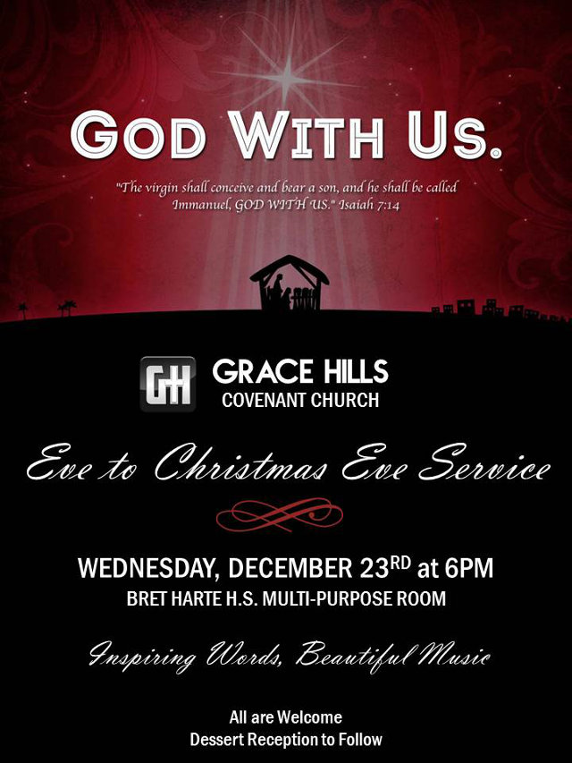 Christmas Celebration at Grace Hills Covenant Church