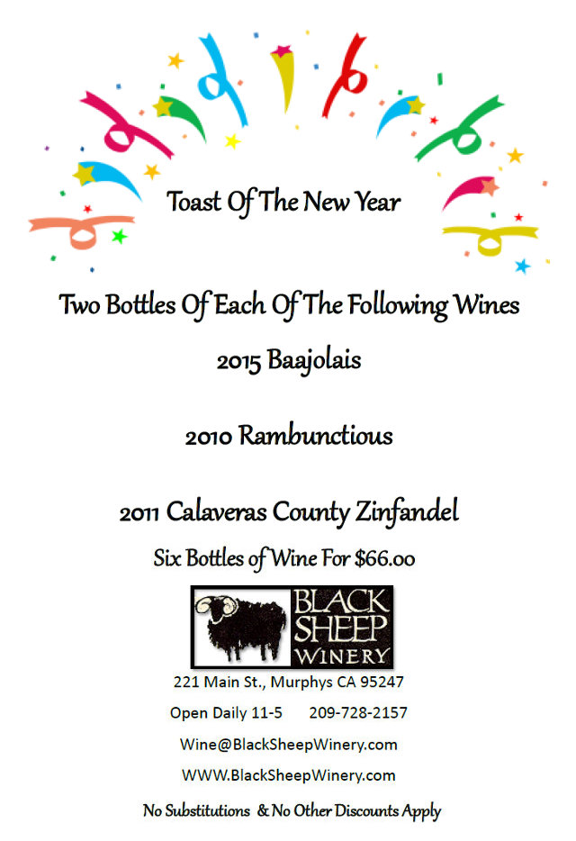 Make 2016 Even Better With Black Sheep Wines