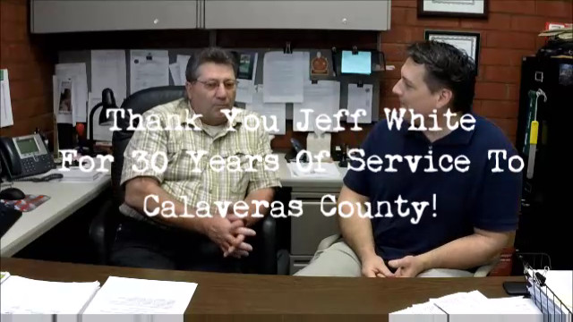 Head Calaveras County Building Official Jeff White Retires After 30 Years Of Service