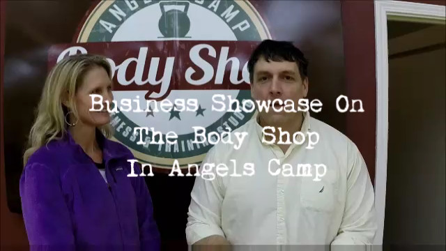 Angels Camp Body Shop Business Showcase Video