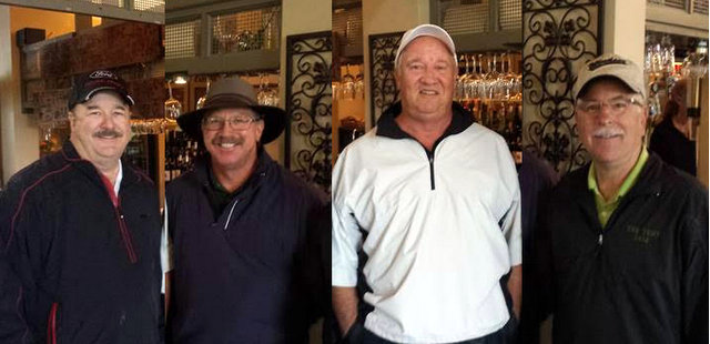 Greenhorn Creek Men's Club NCGA 2016 Four-Ball Net Tournament Results
